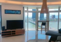 Cho thuê căn hộ Azura, giá rẻ nhất T9/2021, căn 2PN, 100m2, cho thê: 14tr/th, tầng 16, view sông