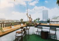 Cho thuê MBKD 60m2 (tầng 8 thượng) tòa văn phòng ngã tư hoàng quốc việt làm mô hình cafe city view