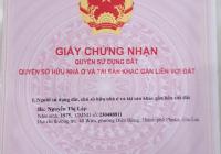 Tôi cần bán lô đất sổ đỏ chính chủ Số 262A, mặt tiền đường Nguyễn Văn Cừ