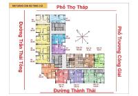 Bán căn 01 dự án The Park Home C22, 3PN căn góc hướng ban công ĐB - ĐN, vào tên hợp đồng trực tiếp