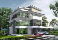 Bán villa mới xây đường Bùi Tá Hán, An Phú - An Khánh, Q2 DT 350 m2. Hướng Đông Nam, giá 30 tỷ