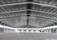 Cho thuê kho xưởng DT: 500m2, 800m2, 1200m2, 2000m2, 5000m2 tại Lô 6B, KCN Quang Minh, Mê Linh, HN