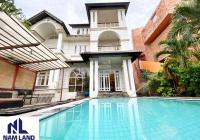 Cho thuê biệt thự sân vườn hồ bơi 610m2 gần sông Sài Gòn đường 23, Bình An, Quận 2