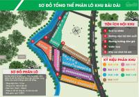 Siêu phẩm đất nền Hòa Lạc bán lô góc 86.4m2, mặt đường 50m đối diện Xanh Villas giá siêu rẻ