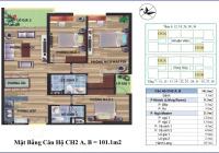 Bán cắt lỗ CC CT4 Vimeco, Nguyễn Chánh DT 101, 123, 141, 148(m2) giá từ 35tr/m2. LH PDA 0904897255