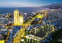 Căn hộ Grand Center số 1 Nguyễn Tất Thành 4 mặt tiền đường, biểu tượng TP CK (3+18)%. LH 0908207092