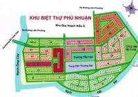 Bán đất biệt thự KDC Phú Nhuận, Phước Long B, Quận 9, cần bán nhanh lô M đường 20m, hướng Đông Nam