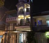 Bán mặt tiền 107A Phan Huy Thực, P Tân Kiểng, Quận 7, DT 4 x 18,5m. Nhà 1 trệt + 3 lầu, 6 PN, 8WC