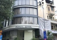 Bán tòa nhà mặt tiền đường góc Ngô Gia Tự - Trần Nhân Tôn, quận 10. Hầm 6 lầu sân thượng thang máy