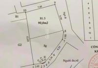 Bán đất ngõ 79 Cầu Giấy lô góc DT 90m2 mặt tiền 7.5m giá chưa đến 70tr/m2 có thương lượng