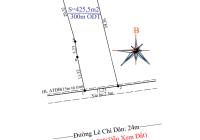 Bán lô đất mặt tiền đường Lê Chí Dân, ngang 11.23m, gần ngã tư Cây Me