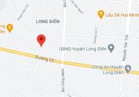 Bán 100m2, 6.3x17m đường nhựa 15m, ra Quốc lộ 55 khoảng 100m, thị trấn Long Điền, H Long Điền, BRVT