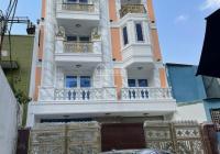 Cho thuê tòa nhà Q1, hầm 5 lầu hẻm ô tô 10m, 68/10D Trần Quang Khải, P. Tân Định, Q1