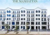 Bán căn nhà phố 126m2 The Manhattan Vinhomes Quận 9 vị trí đẹp sát công viên, chỉ TT 9.6 tỷ