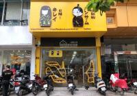 Cửa hàng kinh doanh tầng 1, mặt phố Xuân Thủy. Diện tích 62m2, mặt tiền 4m hè rộng