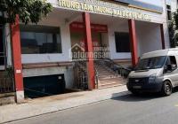Tôi cần cho thuê nhà mặt phố Bà Triệu, Hà Đông, DT 400m2*3T, 1 hầm MT 23m giá 160tr. LH 0987497878