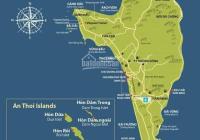 Bán 3.000m2 mặt tiền Dương Đông - Cửa Cạn, giá 14 tỷ/công, vuông vức, qh 100% đất ở, Ấp Ông Lang