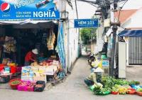 Nền trung tâm thành phố hẻm 101, Huỳnh Thúc Kháng, ngay chợ An Nghiệp, giá 1,38 tỷ