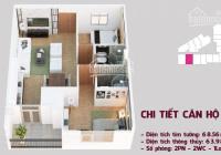 Chính chủ bán gấp căn hộ 06 tầng đẹp, DT 63,86m2, 2PN - 2 VS, nhận nhà ở ngay nhà đẹp