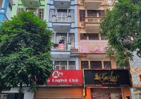 Cho thuê nhà mặt phố Nguyễn Phong Sắc DT 50m2 x 5T tầng 1 - 3 thông sàn 3 - 4/2P giá 40tr/1th