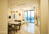 Bán căn hộ Vinhomes Central Park 53.8m2 1PN tòa Landmark Plus nội thất hiện đại