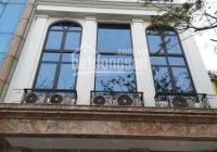 Cho thuê nhà mặt phố Quan Hoa 45m2 xây 5 tầng mặt tiền 5.5m, giá 35tr/th