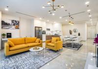 Cho thuê căn hộ Vinhomes Central Park 187.7m2 4PN tòa Park 3 view trực diện sông đẹp nhất dự án