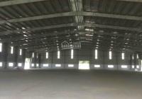 Cho thuê nhà xưởng trong KCN Bình Phước, DT đất: 20.000m2. DT xưởng 12.000m2, giá 62,5N hoặc 2,7usd