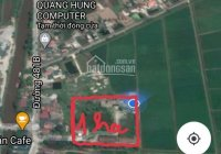 Bán 1ha đất sản xuất kinh doanh, Khánh Cường, Yên Khánh, Ninh Bình