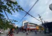 Cho thuê nhà góc 2MT D2 & Ung Văn Khiêm, Bình Thạnh, 19x10m, 1 lầu, DTSD 380m2, giá 150 triệu/tháng