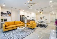 Cho thuê căn hộ Vinhomes Central Park 125.5m2 3PN tòa Central 3, phòng khách rộng rãi, view đẹp