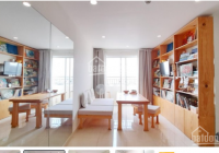 Cho thuê căn hộ có ban công, full nội thất, 62m2, có 2 PN, 2 toilet, miễn phí quản lý