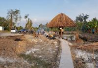 Bán đất xây nhà vườn chỉ 1,9tr/m2 view sông rạch Láng The 1000m2 có vườn trái cây, ao cá