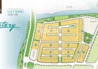 Bán lô góc đất Mystery Villas 11x20m đường thông đẹp nhất dự án 220tr/m2. LH 0902930432