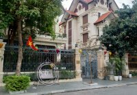 Bán căn biệt thự đơn lập KĐT Việt Hưng, Long Biên cực đẹp 240m2, MT 11m, đường 20m cây xanh mát