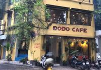 Sang nhượng quán cafe mặt phố Duy Tân, Cầu Giấy. 90m2 x 2 tầng, mặt tiền 12m giá thuê: 65 triệu