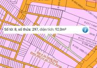 92m2 đất 2 mặt tiền đường xe hơi khu dân cư ở đông cách phà Cát Lái 3km