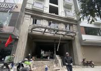 Cho thuê tòa nhà MP Quang Trung Hà Đông, 900m2 * 6 tầng 1 hầm, giá 580 triêu, LH xem nhà 0968120493