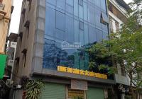 Cho thuê MP Hoàng Quốc Việt - Cầu Giấy - Hà Nội. DT 300m2, 8T nổi, 1 hầm, thông sàn, thang máy
