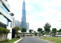 Bán biệt thự phường Bình An, view Landmark 81, Q2. DT 6.8 x 18m, 1 trệt 2 lầu, giá 24 tỷ TL