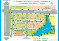Bán nhanh đất nền dự án Sun City Minh Sơn, Phú Hữu, Q9, DT 216m2, giá chỉ 42 tr/m2