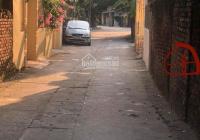 Bán 160m2 làng Sủi - Phú Thị, MT 4m, nở hậu, mặt đường liên thôn, ô tô vào đất, giá rẻ