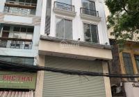 Cho thuê nhà MP Sơn Tây: 100m2 x 8 tầng, MT: 5m, nhà mới, thông, có hầm, thang máy. LH: 0974557067