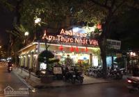 Sang nhượng quán bia mặt phố Quan Hoa
