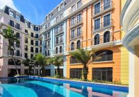 Bán cắt lỗ 1 tỷ căn khách sạn 7T BIM - 22 phòng KS - căn góc mặt 24m đối diện Intercontinental 5*