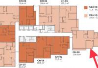 Chính chủ tôi bán căn góc 3 mặt thoáng 124,6m2 3PN + 2WC chung cư Berriver N01 390 Nguyễn Văn Cừ