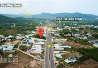 Bán mảnh đất mặt tiền đường Tuyến Tránh thuộc Dương Đông mở rộng TP Phú Quốc quy hoạch đất ở