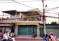Bán nhà 1 trệt 1 lầu 90m2 (5,6x16) mặt tiền đường Quách Điêu, Bình Chánh, HCM, sổ hồng riêng