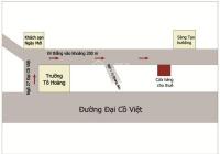 Cho thuê cửa hàng, ki ốt, văn phòng tại Đại Cồ Việt, Hai Bà Trưng, Hà Nội. DT 20m2, LH 0912828087
