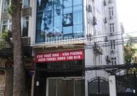 Cho thuê nhà MP Xã Đàn 90m2x6 tầng, mặt tiền 6,8m, giá 150tr/th, nhà mới, thang máy, thông sàn